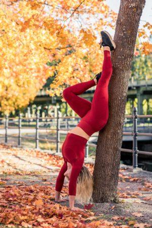 Legíny na cvičení