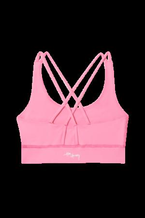 Růžový sportovní top